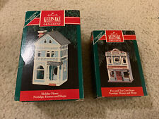 Vintage Hallmark Collector's Series 1990-2001 (Set Of 9)