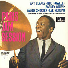 ART BLAKEY / BUD POWELL / LEE MORGAN - PARIS JAM SESSION (JAZZ CD REISSUE)
