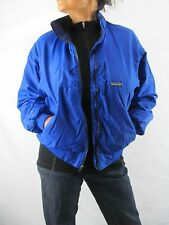 Patagonia Vintage Blue Squall Capilene Poly Lined Jacket Small Made in USA  NYZ7