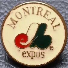 Vintage 1960s Montreal Expos Baseball Pin - MLB Officially Licensed