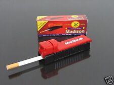 Madison Manual Tobacco Roller Maker Cigarette Rolling Machine Injector #92