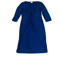 Leona Edmiston 'Ruby' Dress Women's Colbalt Blue Size 3 Stretch 14