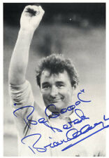 BRIAN CLOUGH Signed Photograph - Football Manager NOTTINGHAM FOREST - Preprint