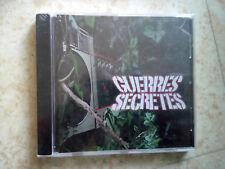 GUERRES SECRÈTES - CD RAP FRANCAIS - CD NEUF ET SOUS BLISTER