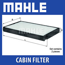 MAHLE Standard Pollen Cabin Air Filter - LA634/S (LA 634/S) Genuine Part
