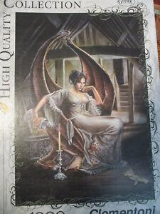 Gothic Collection Clementoni 1000 Piece Puzzle The Secret of Bleakdale Abbey