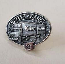 Roadway 8 Year Safety Award Pin