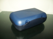Tupperware At Lunch Box Blue Black w/ Insert & Smidget On the Go Rare New