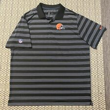 Nike Dri-Fit NFL On Field Apparel Cleveland Browns Polo - Size XXL - Brown