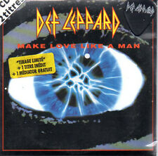 CD SINGLE DEF LEPPARD Make love like a man LTD French ED MEDIATOR Guitar Pick G