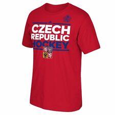 NHL T-Shirt World Cup Hockey Team CZECH REPUBLIK Tschechien Hockey Eishockey rot