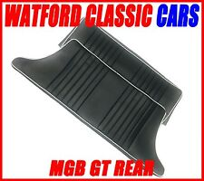 MGB GT Rear seat Covers All years Black/White piping
