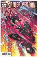 Spider-Geddon 4 Marvel 2018 VF 1:25 Javi Garron Variant Christos Gage Spider-Man