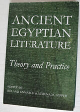 Ancient Egyptian Literature: Theory and Practice (2013) Oxford University Press