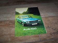 Catalogue / Brochure AUDI 100 1976 //