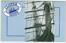 1984 STAMP PACK 'CLIPPER SHIPS' - GREAT CONDITION WITH 4 MNH STAMPS