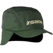 Sage Fly Fishing Lightweight Waterproof Storm Cap - Ear Flaps Warm Hat - NEW!