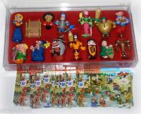 Das königliche Turnier  -  Ferrero D 2004 - 13 Figuren mit 13 BPZ