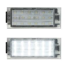 LED Kennzeichenbeleuchtung Renault Clio Twingo Megane Master II 2 III 3 IV 4