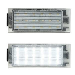 LED Kennzeichenbeleuchtung Smart 453 Brabus Mercedes Citan Opel Movano Nissan