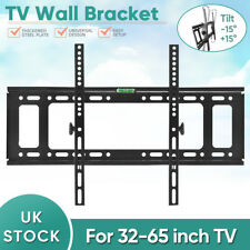TV Wall Mount Bracket Shelf Tilt & Swivel Flat Plasma LCD LED Slim 32-65 inches