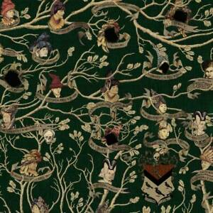 Harry Potter: Black Family Tree Tapestry Poster from MinaLima
