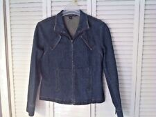 Company Ellen Tracy Womens Ladies Denim Blue Jean Jacket Size 12 All Categories
