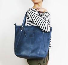100% English Genuine Cow Leather Womens Large Kylie Bag Shoulder Strap Handbag