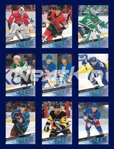 2020-21 UD Upper Deck SERIES 1 Hockey - YG YOUNG GUNS  ***U PICK LIST***