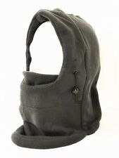 Thermal Fleece Balaclava Hat Hood Ski Wind Stopper Face Mask C-104 Dark Gray
