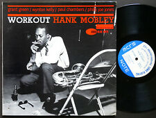 HANK MOBLEY Workout LP BLUE NOTE 4080 NY USA EAR MONO Grant Green Wynton Kelly