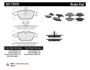 Disc Brake Pad Set fits 2008-2017 Mercedes-Benz C350 E550 E350  CENTRIC PARTS