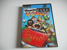 PC CD-ROM - THEME PARK. WORLD