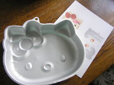 2012 Sanrio Wilton HELLO KITTY Cake Pan Mold #2105~7575 w/ Instructions