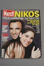 paris match n°2849 nikos bush saddam ornella muti irini