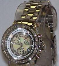 new Authentic Womens Joe Rodeo rio chronograph  2.00 Ct.aprx.Diamond Watch jro40