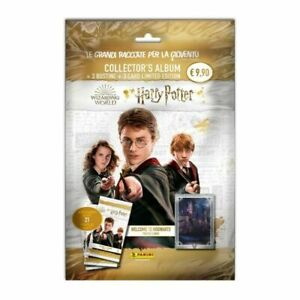 STARTER COLLECTOR'S HARRY POTTER WELCOME TO HOGWARTS  2021 CARDS PANINI