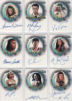 Xena Season 6 Auto Autograph Card Selection