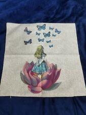 pillowcase Alice in Wonderland decorative flower butterflies