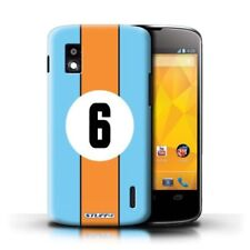 Blue Mobile Phone Fitted Cases/Skins for LG Nexus 4