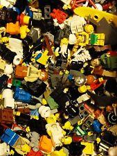 Bulk Lego Lot of 10 Random Mini Figures Plus Objects