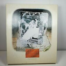Picture Frame Crystal Fifth Avenue Narcissus 8 X 10 new Original Box vintage