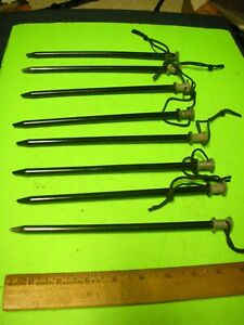 Easton Marine Army US Tent Stakes - Heavy Duty Camping, Backpack