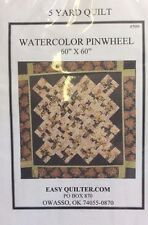 WATERCOLOR PINWHEEL #509 QUILT PATTERN FROM EASY QUILTER