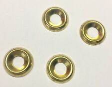 Screw Cup Surface Finishing Washers No 6 Eb Brass Plated Pack Of 20