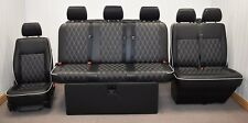 STREAMLINE FULL WIDTH M1 ROCK N ROLL BED + VW T5 FRONT SEAT UPHOLSTERY (401D+DD)