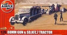 Airfix - 88mm Anti-Tank Gun Sd.Kfz. 7 Modelo Equipo de construcción 1:76 (72)