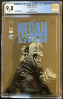 Negan lives! #1 Blue Logo 2nd Print CGC 9.8 Walking Dead New Slab.