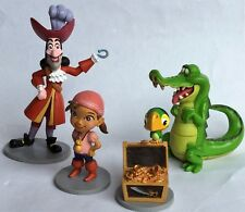 DISNEY – 4 X FIGURES/ CHARACTERS - JAKE AND THE NEVERLAND PIRATES - PLAYSET