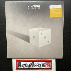 Paul McCartney III Imagined 2xLP Indie Exclusive Gold Colored Vinyl - In Hand 🎶